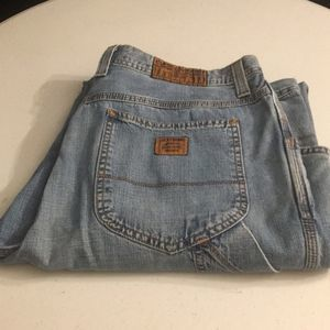 Lucky Brand Denim Cargo Dungarees Regular EUC